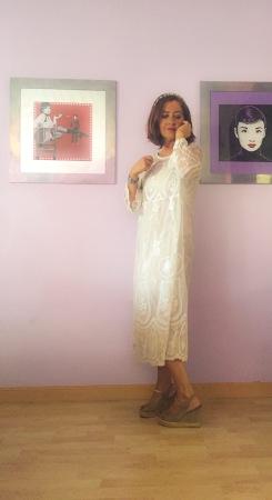 look romantico vestido hippy deluxe en cuarentaytantoslooks.com por estrella villatoro _12