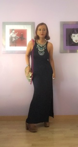 look vestido negro cuarenta y tantos looks por estrella villatoro moda para mas de 40 años02