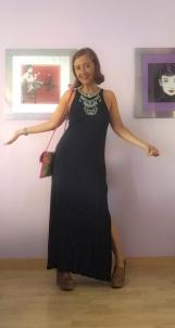 look vestido negro cuarenta y tantos looks por estrella villatoro moda para mas de 40 años04