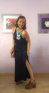 look vestido negro cuarenta y tantos looks por estrella villatoro moda para mas de 40 años11