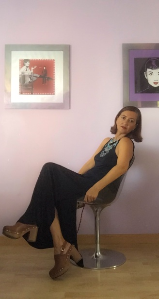 look vestido negro cuarenta y tantos looks por estrella villatoro moda para mas de 40 años15