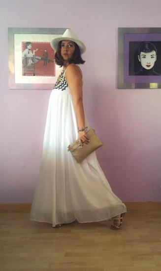 vestido blanco sheinside en cuarentaytantoslooks.com por estrella villatoro